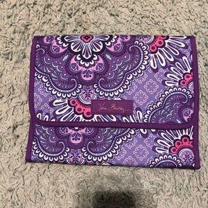 Vera Bradley Jewelry Organizer in Lilac Tapestry